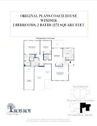 Coach House Floor Plans by Rob Roy Country Club Village Floor Plans