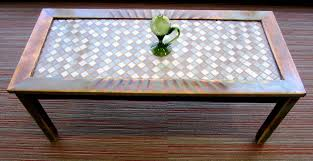 replace glass in coffee table with something else how to refinish and tile a coffee table the home depot community