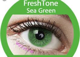 sea green color contacts halloween contact lenses
