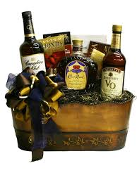 build a basket canadian whiskey triple gift basket