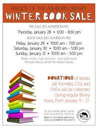 winter book sale at the ashburn library posh seven magazine for