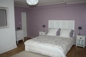 deco chambre parme chambre adulte parme et blanc mobilier décoration