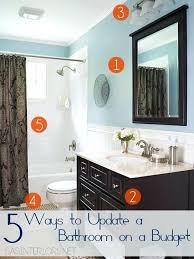 Bathroom Upgrade Ideas Small Bathroom Updates On A Budget Cool Small Bathroom Upgrade