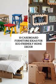 Eco Friendly House Ideas 10 Cardboard Furniture Ideas For Eco Friendly Décor Digsdigs