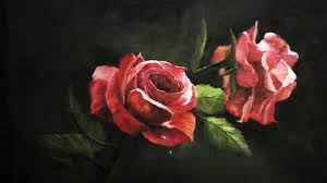 paint with kevin hill red roses youtube