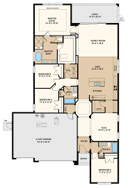 elmhurst 3 car floor plan at the enclave at channing park in elmhurst ii 3