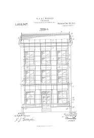 fire escape floor plan patent us1012947 fire escape google patents