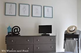 ikea dresser covered in fabric wit wisdom u0026 food