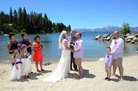 Lake Tahoe Wedding Venues Summer Beach Weddings Lake Of The Sky Weddings