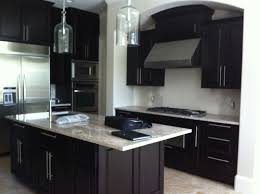 Light Brown Kitchen Dark Brown Kitchen Cabinets Home Design Plan