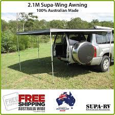 Car Awnings Brisbane 2 1m 4x4 Supa Peg Supa Wing 4wd Vehicle Side Awning Ebay