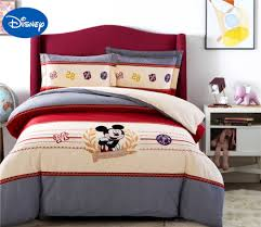 Minnie Mouse Bedspread Set Online Get Cheap Red Mickey Mouse Bedding Aliexpress Com