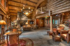 lakefront log home plans hahnow