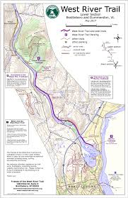 Murray State Map by Lower Section Map U2013 The West River Trail
