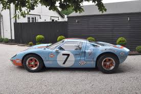 gulf gt40 1980 ford gt40 l one off continuation car coys of kensington