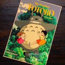 online buy wholesale wall art miyazaki totoro wall stickers from