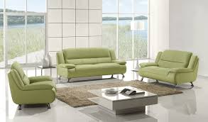 Green Leather Sofa by Leather Sofa Set Ae733 Leather Sofas