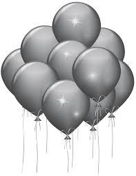 silver balloons silver balloons transparent clip image gallery yopriceville