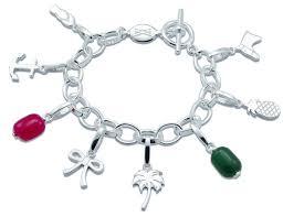 sterling silver charm bracelet wellesley row