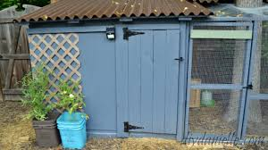 build an easy to clean duck coop with attached storage diy danielle