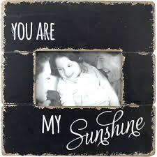 fetco home decor della you are my sunshine 6 x 4 photo frame