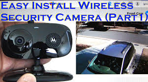 motion detector light with wifi camera easy install wireless home security camera motion detection part 1