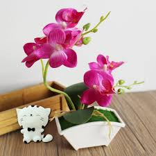 Fake Orchids Imitation Orchids Online Get Vase Artificial Orchids Arrangements
