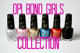 review and swatches opi bond girls collection youtube