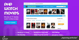 php watch movies script by crivion codecanyon