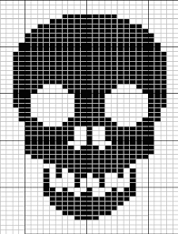 skull knit pattern will to try this as a crochted scarf