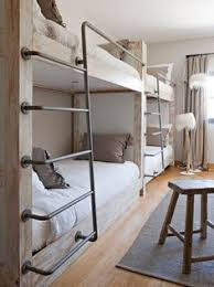 Easy And Strong 2x4 U0026 2x6 Bunk Bed 6 Steps With Pictures by Build A Set Of Strong Triple Bunk Beds Diy Project Homesteading