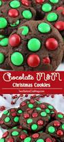 chocolate m u0026m christmas cookies two sisters crafting