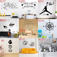 Wall Decor Home by Mixed 168 Styles Wall Quotes Decal Words Lettering Saying Wall