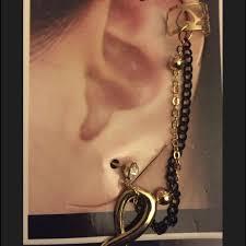 Beaded Chandelier Earrings U2013 Tracy 54 Best Ear Cuff Chain Earring Images On Pinterest Ear Cuffs