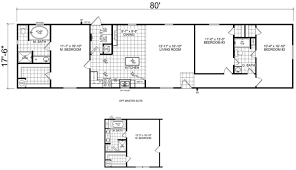cool floor plans cool 18 x 80 mobile home floor plans new home plans design
