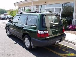 2002 green subaru forester 2002 savanna green metallic subaru forester 2 5 l 29342914 photo