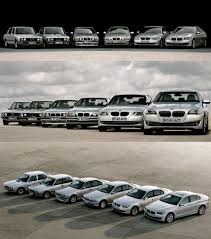all bmw cars made bmw 5 series all six generations together