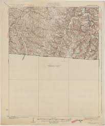 Kentucky Tennessee Map by