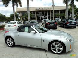 Nissan 350z Silver - 2007 nissan 350z touring roadster in silver alloy metallic