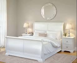 White Sleigh Bed Leo Sleigh Bed