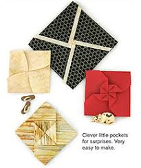 Pocket Origami - fabric origami projects