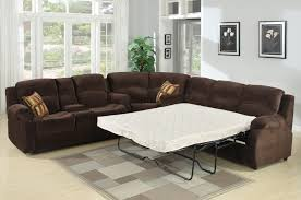 leather sectional sofa sleeper recliner scifihits com