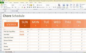 Payment Schedule Excel Template Free Chore Payment Schedule Template For Excel