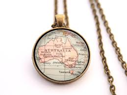 Personalized Photo Pendant Necklace Best 25 Map Necklace Ideas On Pinterest World Necklace Jewelry