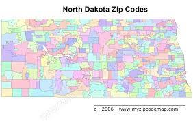 San Jose Zip Codes Map by Map Of North Dakota