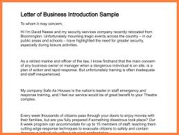 6 format of introduction letter of company company letterhead
