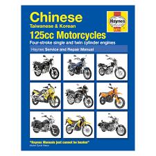 haynes workshop manual chinese 125cc motorcycles demon tweeks
