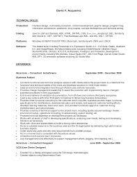 Resume Ex 28 Resume Examples Technology Skills Skill Resume Free