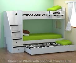 berg enterprise twin bunk bed with staircase bedroom furniture