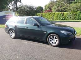 used bmw 5 series estate for sale used bmw 5 series 2004 diesel 530d se 5dr estate green with for